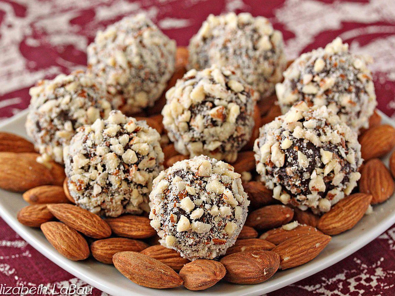 An Easy Almond Truffle Recipe