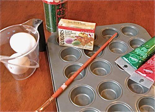 Cookie paint recipe ingredients