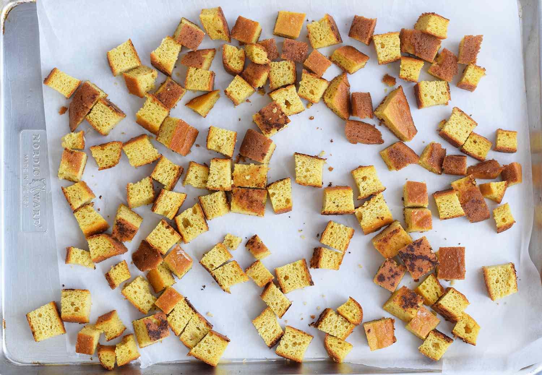 Cornbread for Keto Stuffing