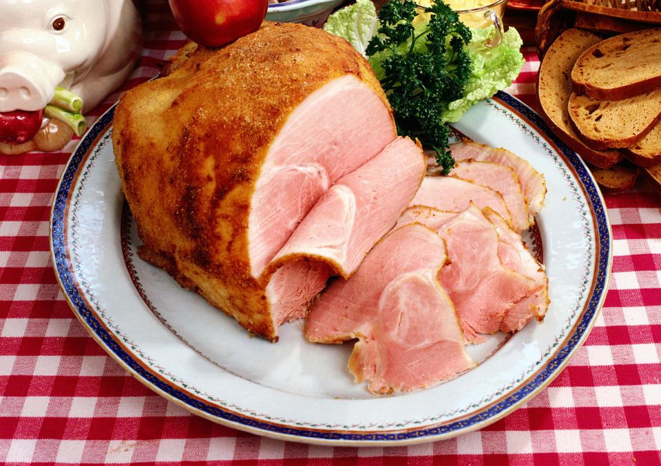 The Christmas ham, Sweden