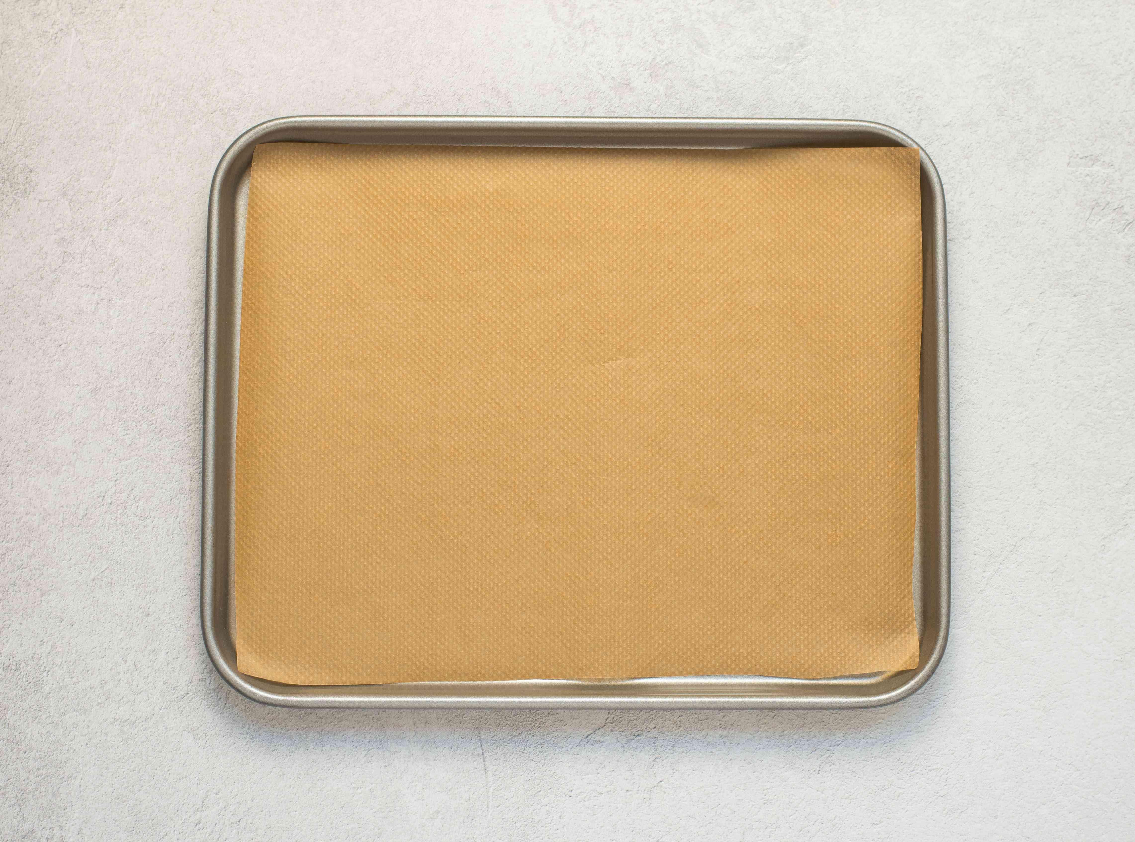 Line a baking sheet
