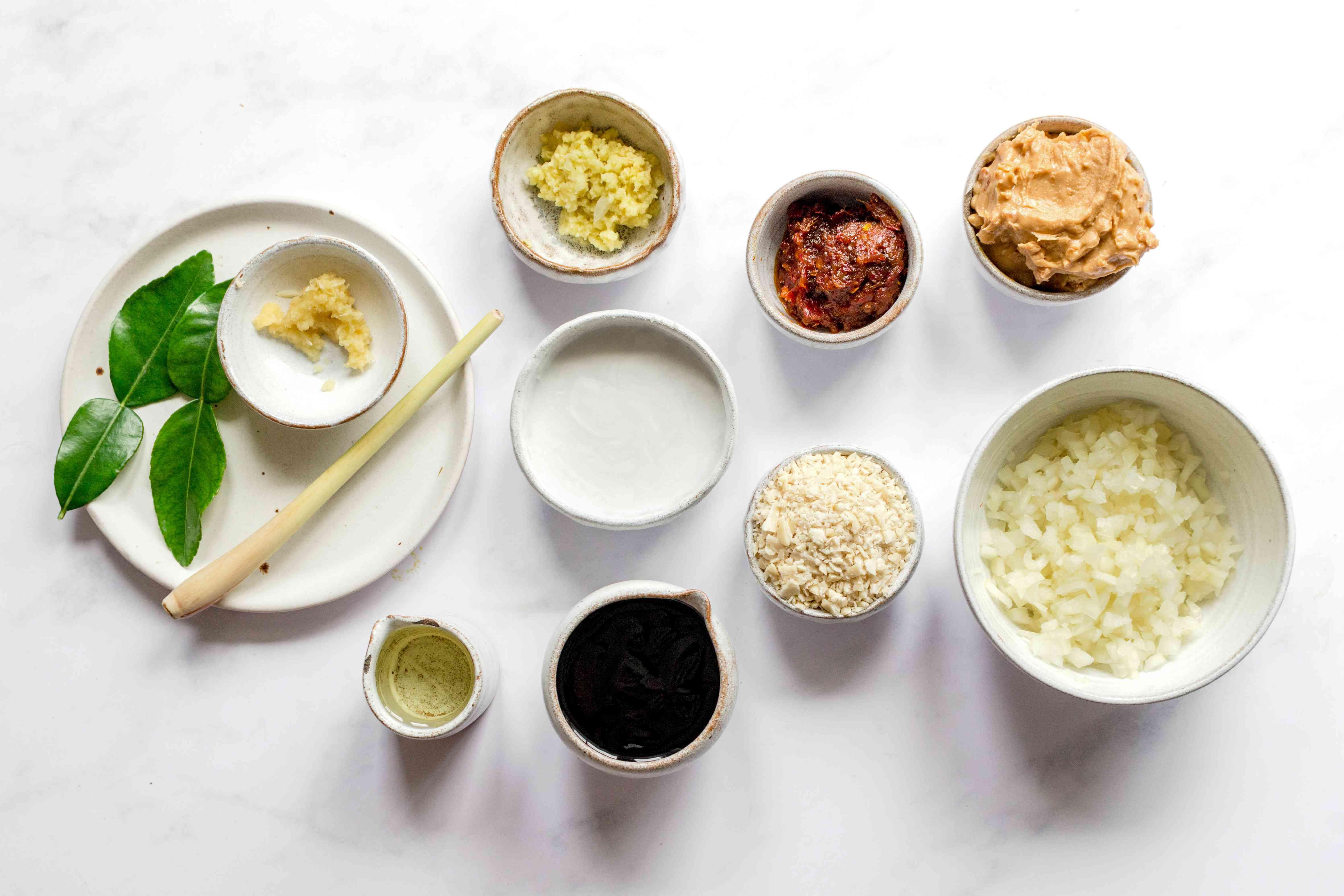 Dutch Satay Sauce ingredients