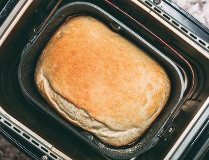 Baking bread in bread maker