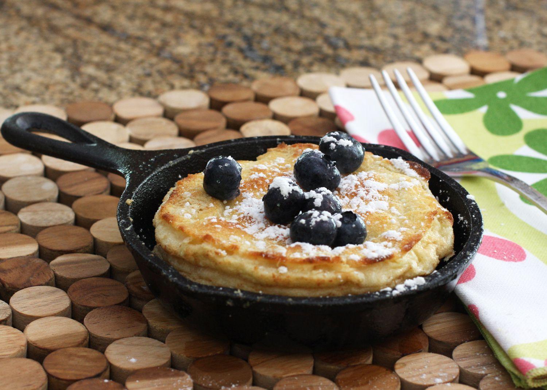 Single-Serve Dutch Baby Pancake