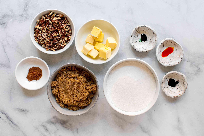 filling and sprinkle ingredients
