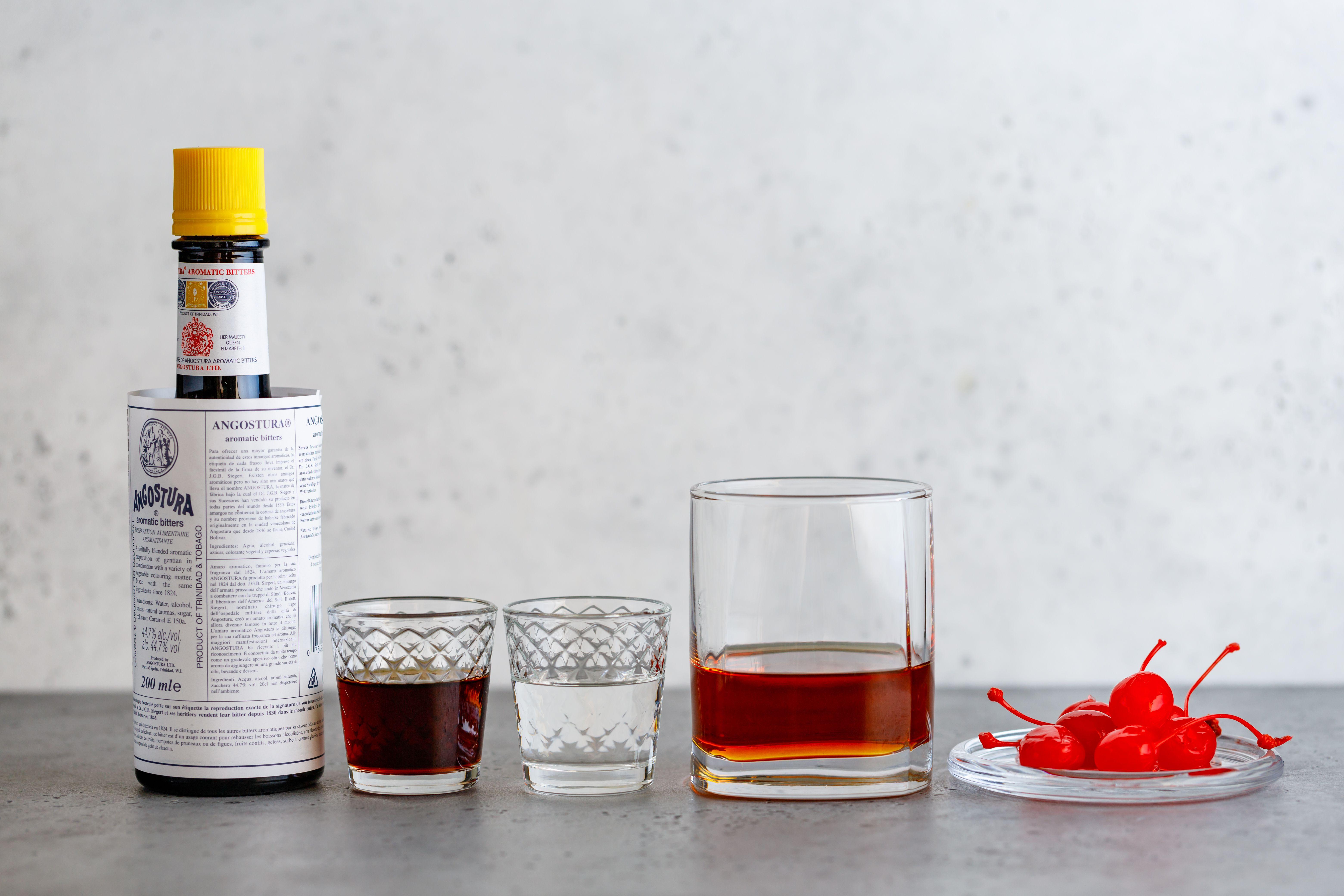 Perfect Manhattan Cocktail With Knob Creek Bourbon