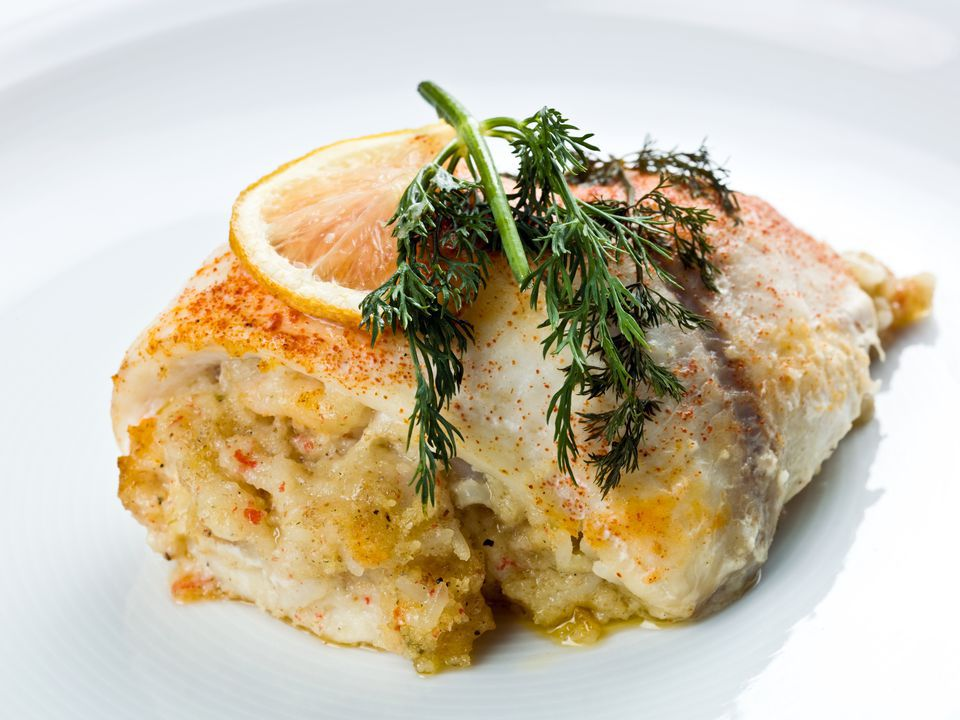 Baked Stuffed Sole or Flounder