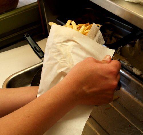 Wrap up the gyro sandwich