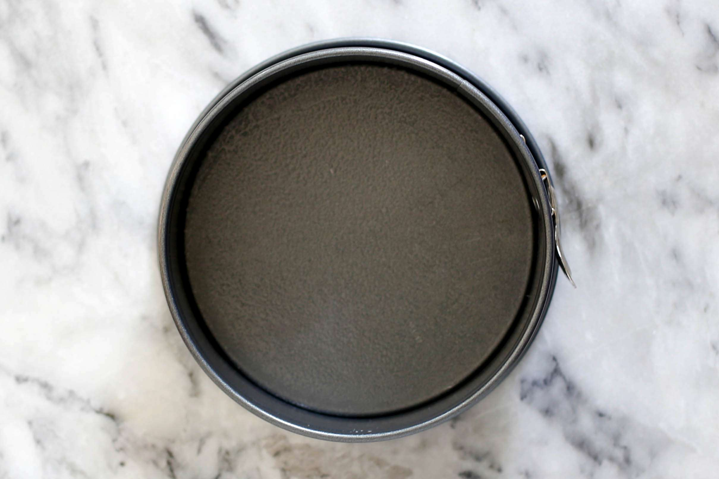 springform pan with nonstick cooking spray