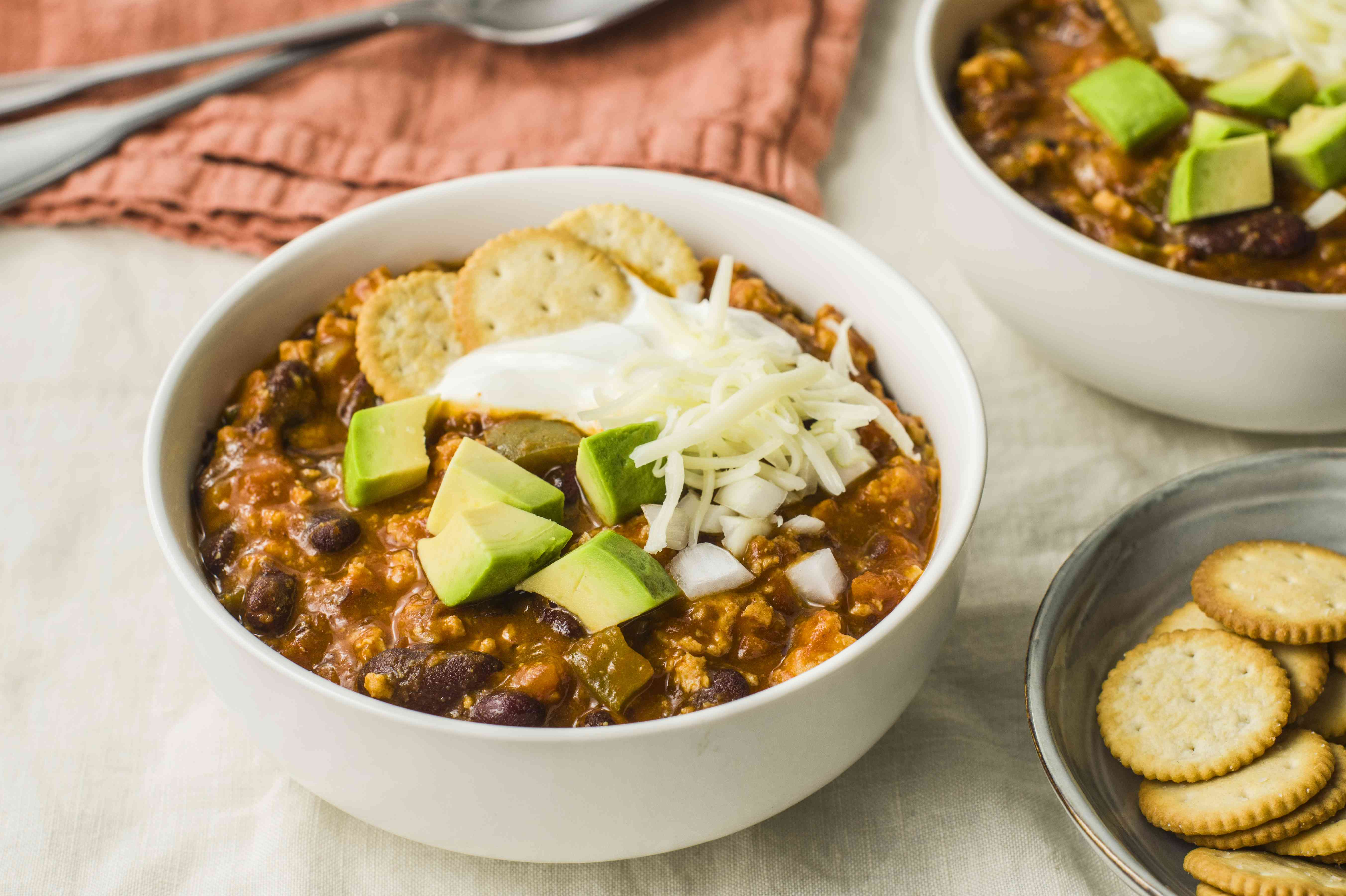 Ground turkey chili recipe