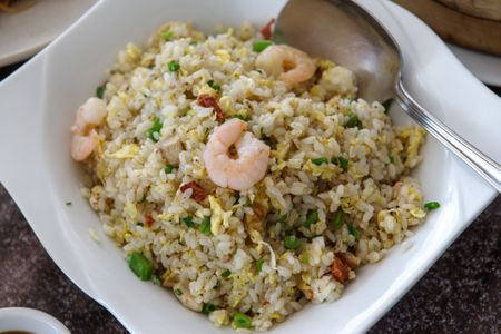 Special fried rice how many calories