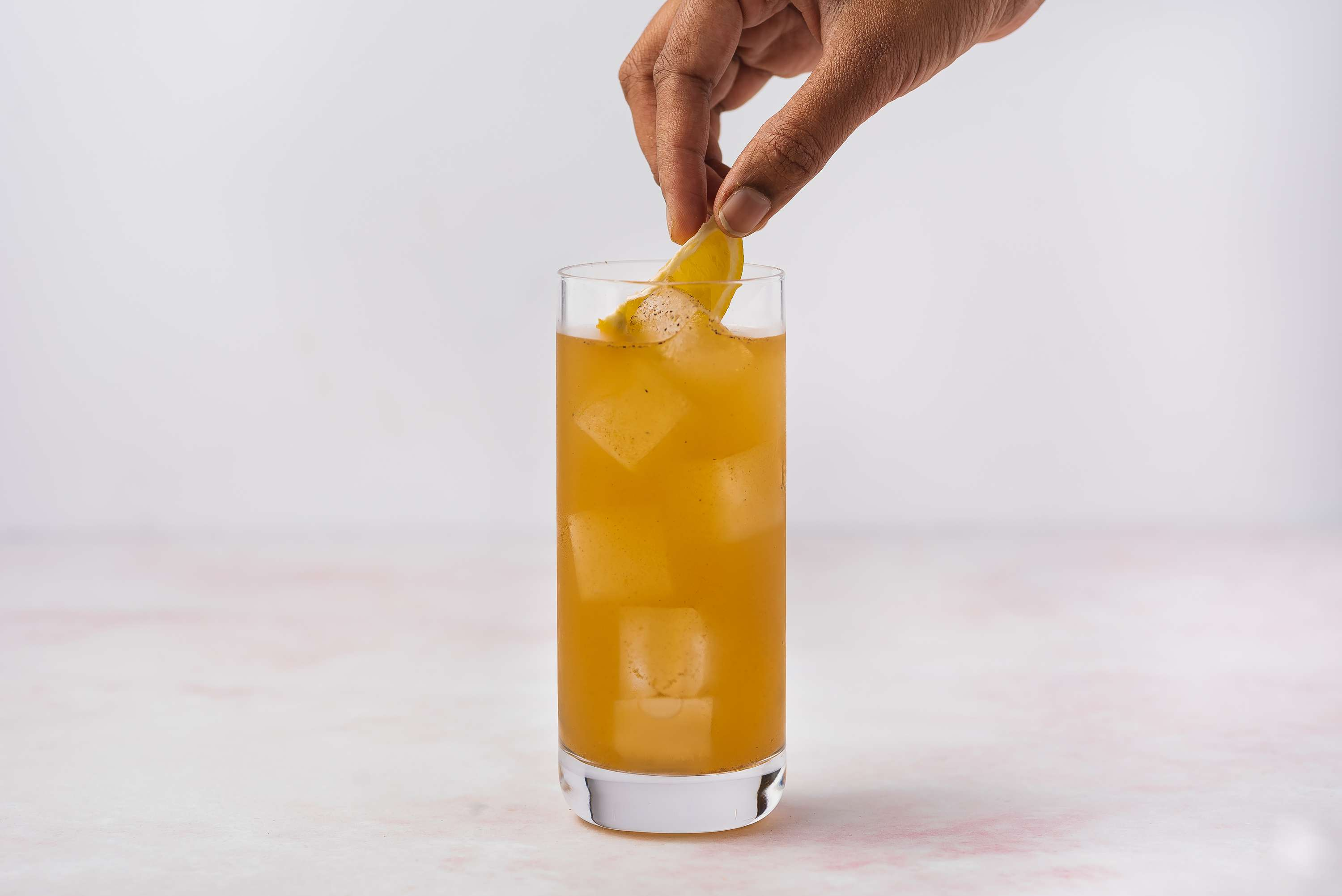 Savory Beef Broth and Vodka Bull cocktail