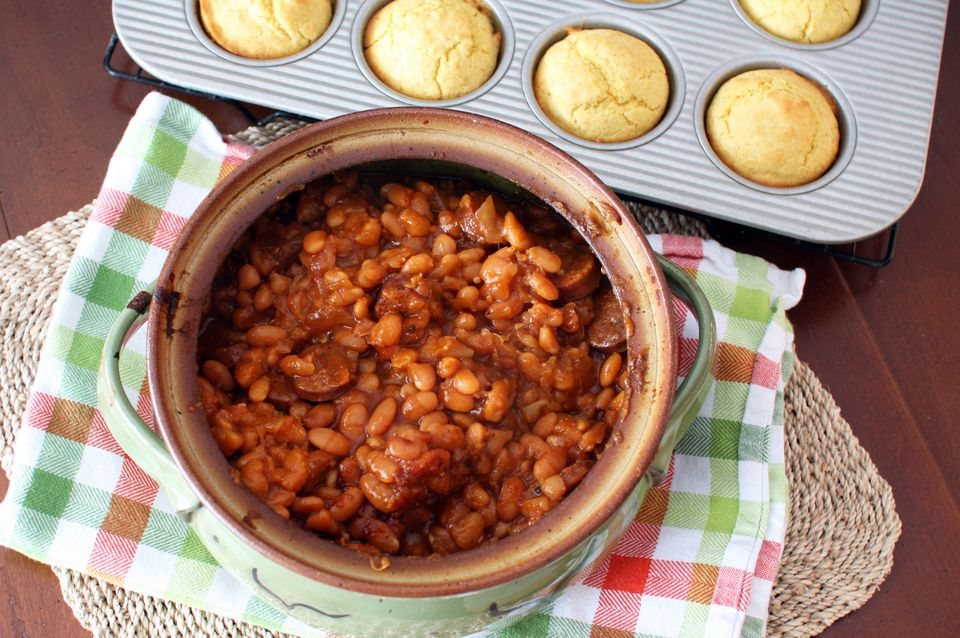 barbecue Beans With Sausage