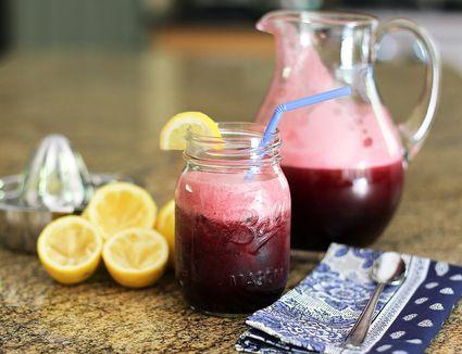 blueberry lemonade