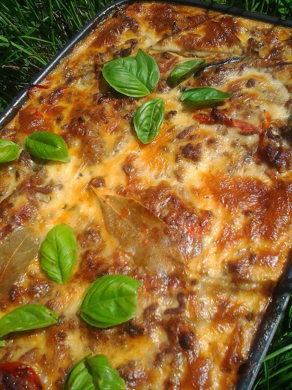 Grilled Moussaka