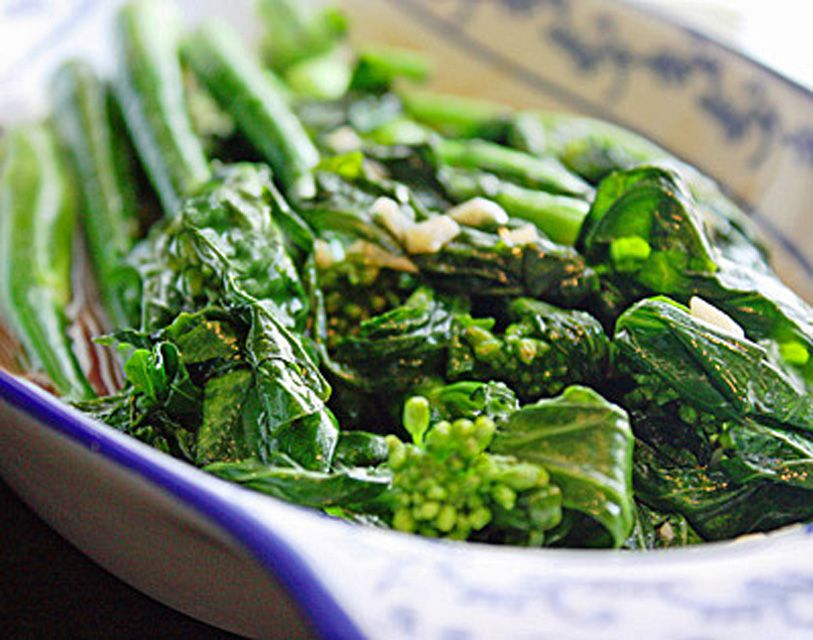 Best Chinese Broccoli, Stir-Fried in a Sweet Garlicky Sauce