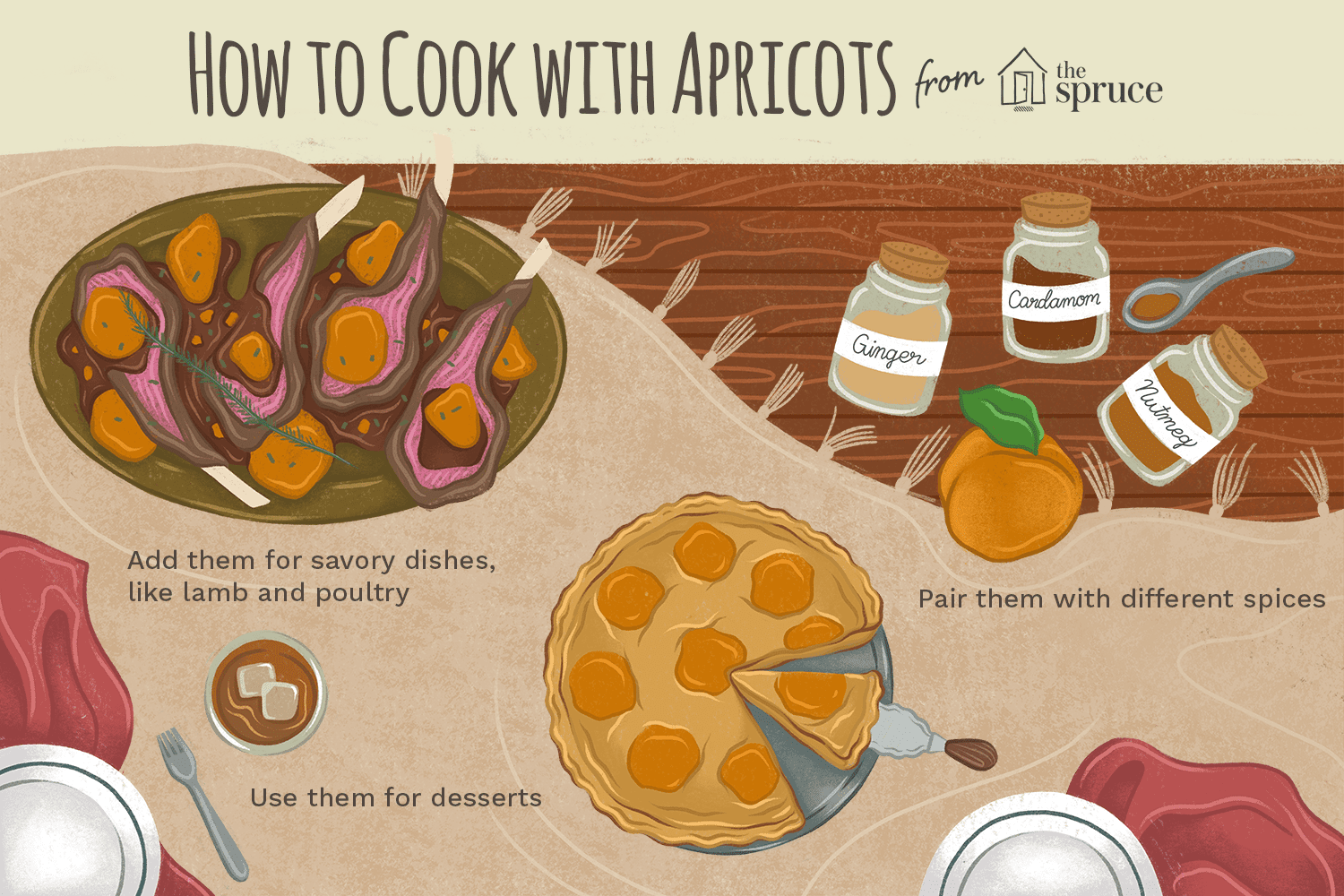 how to peel apricots