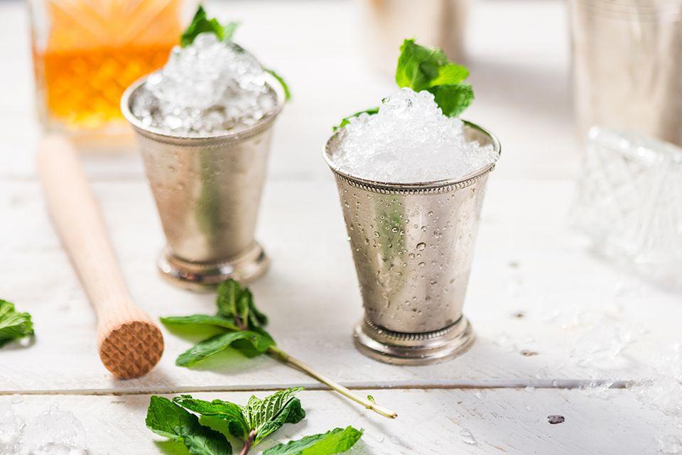 Classic Mint Julep Cocktails