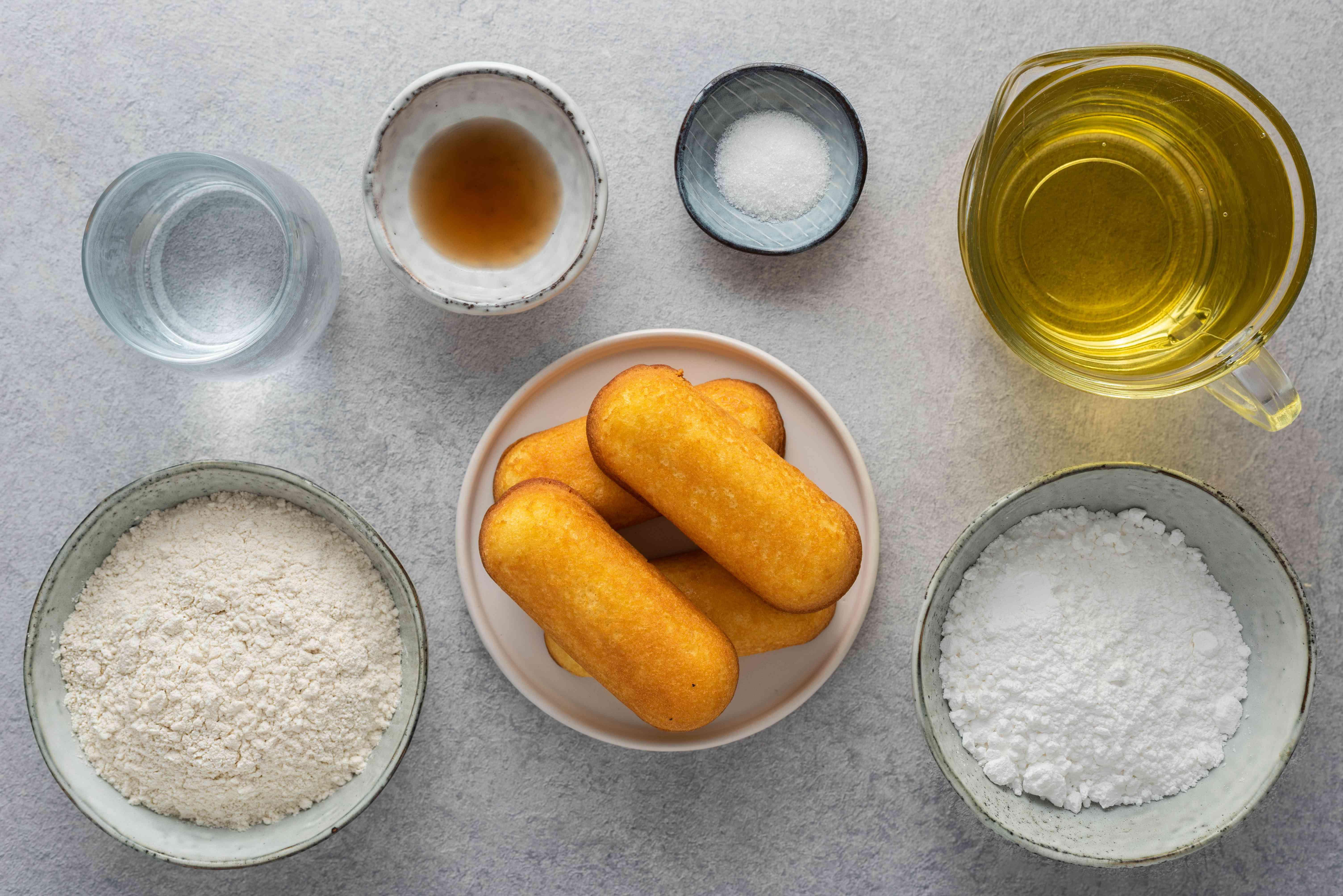 Deep Fried Twinkies ingredients