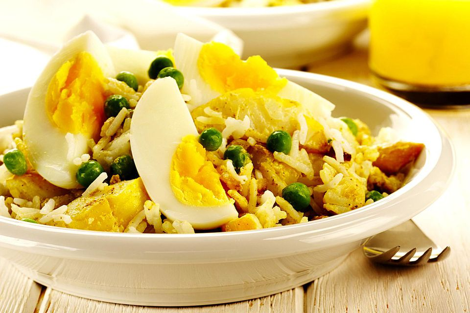 A plate of kedgeree