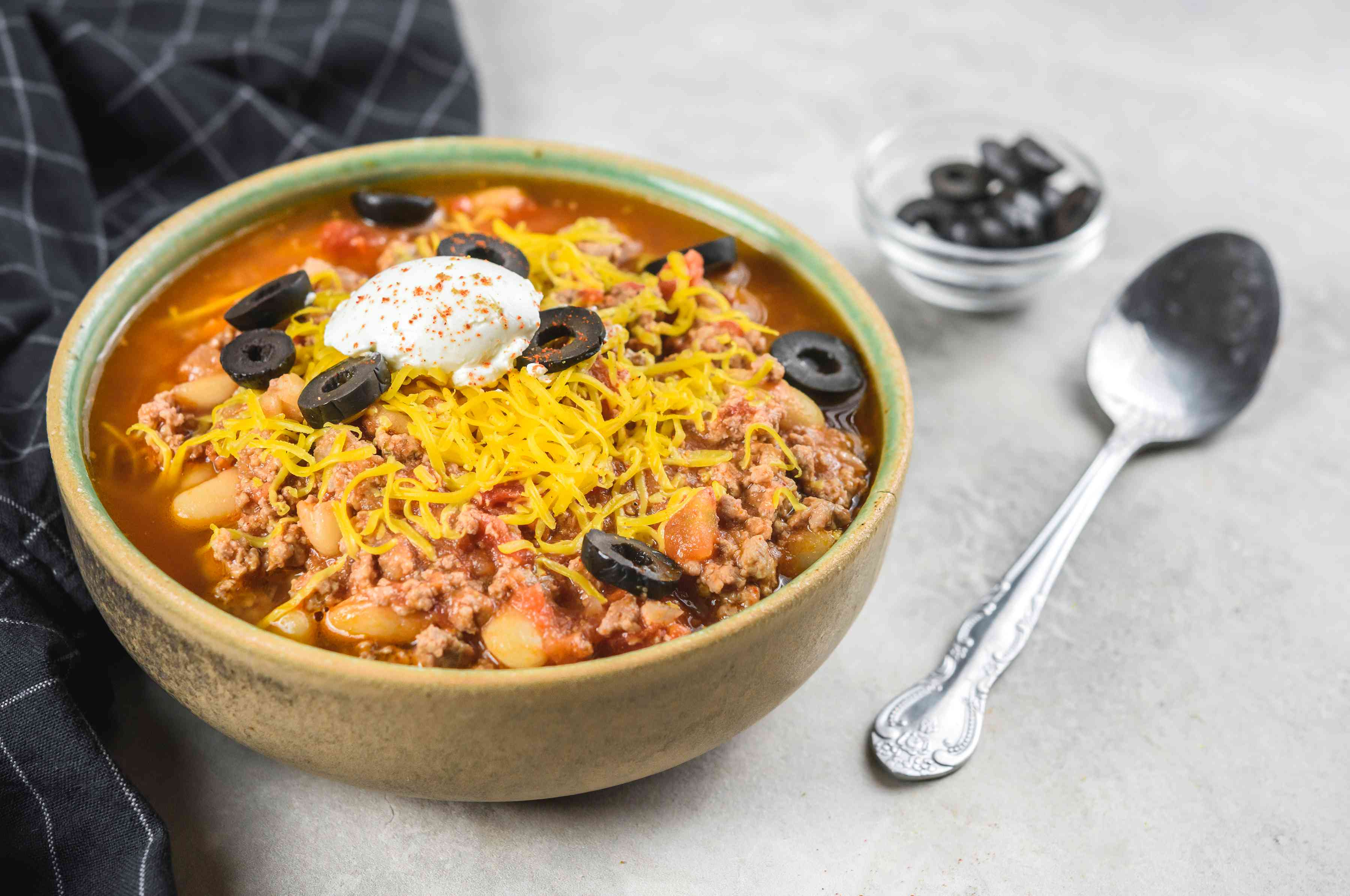 Slow Cooker Chunky Turkey or Beef Chili Recipe