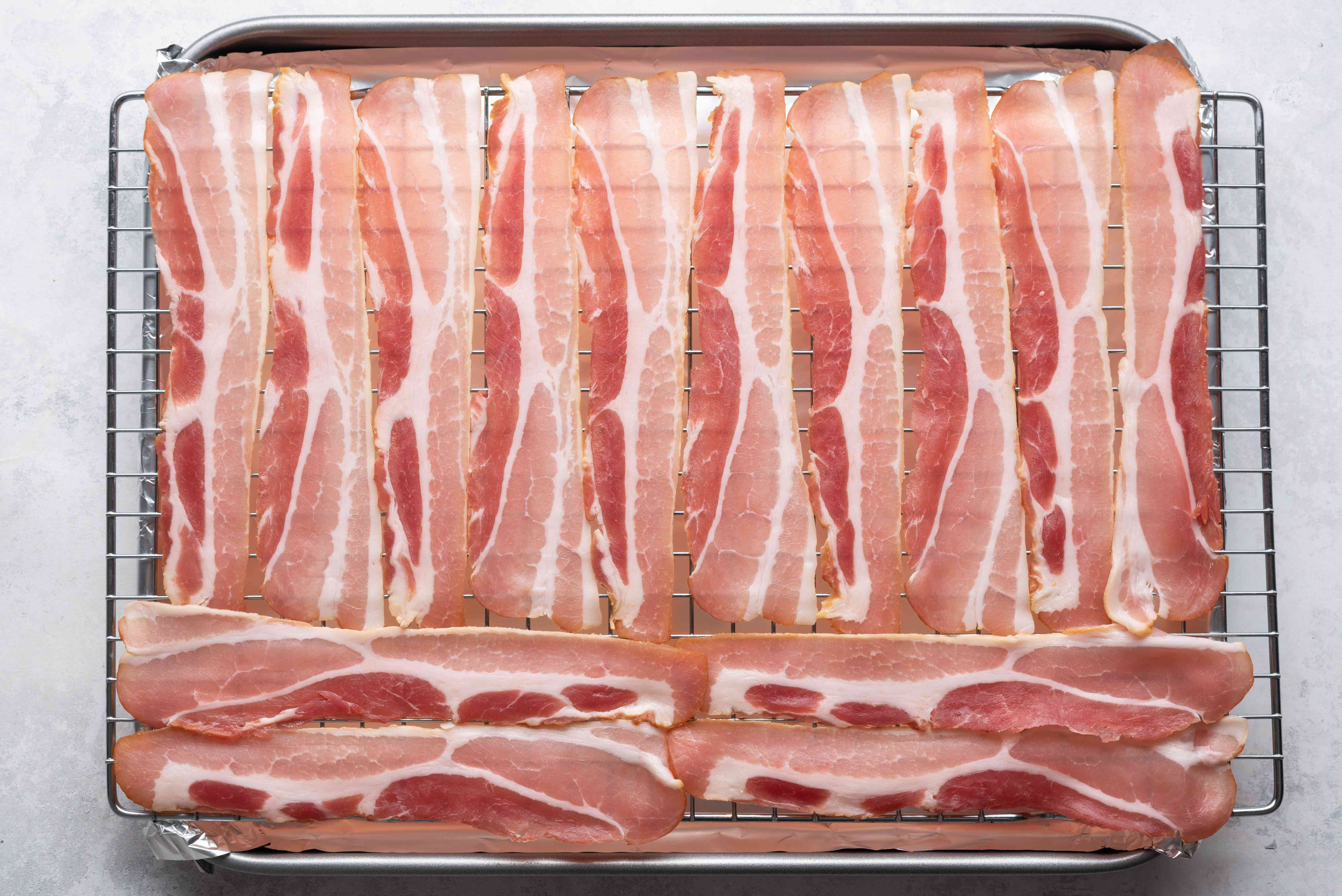 Bacon on the rack