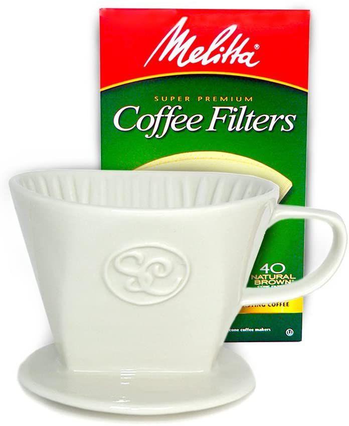 Melitta Ceramic Pour Over Coffee Dripper