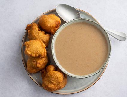 Hausa Koko recipe, in a bowl
