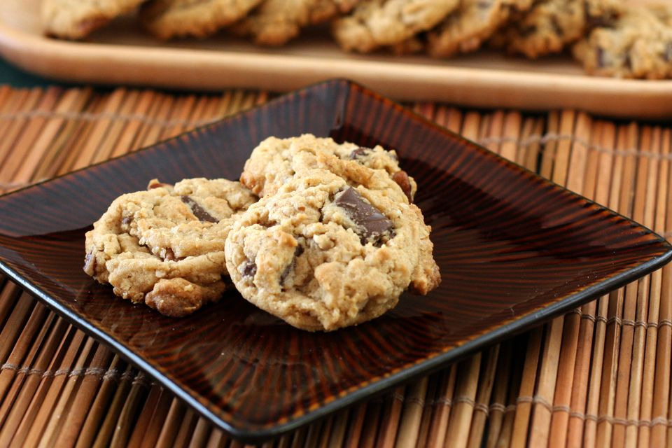 cowboy cookies peanut butter and chocolate chips