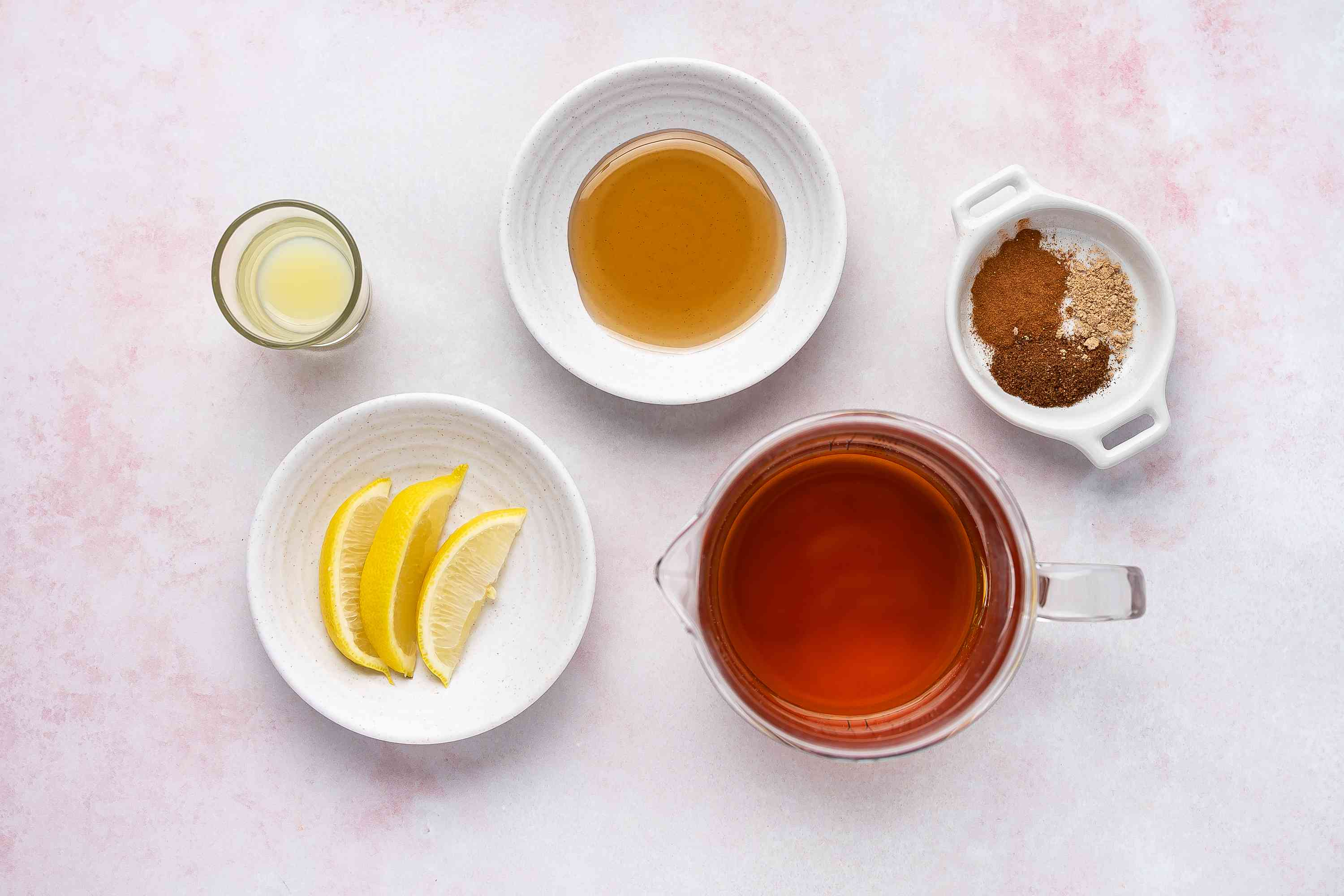 Nonalcoholic Hot Not Toddy ingredients