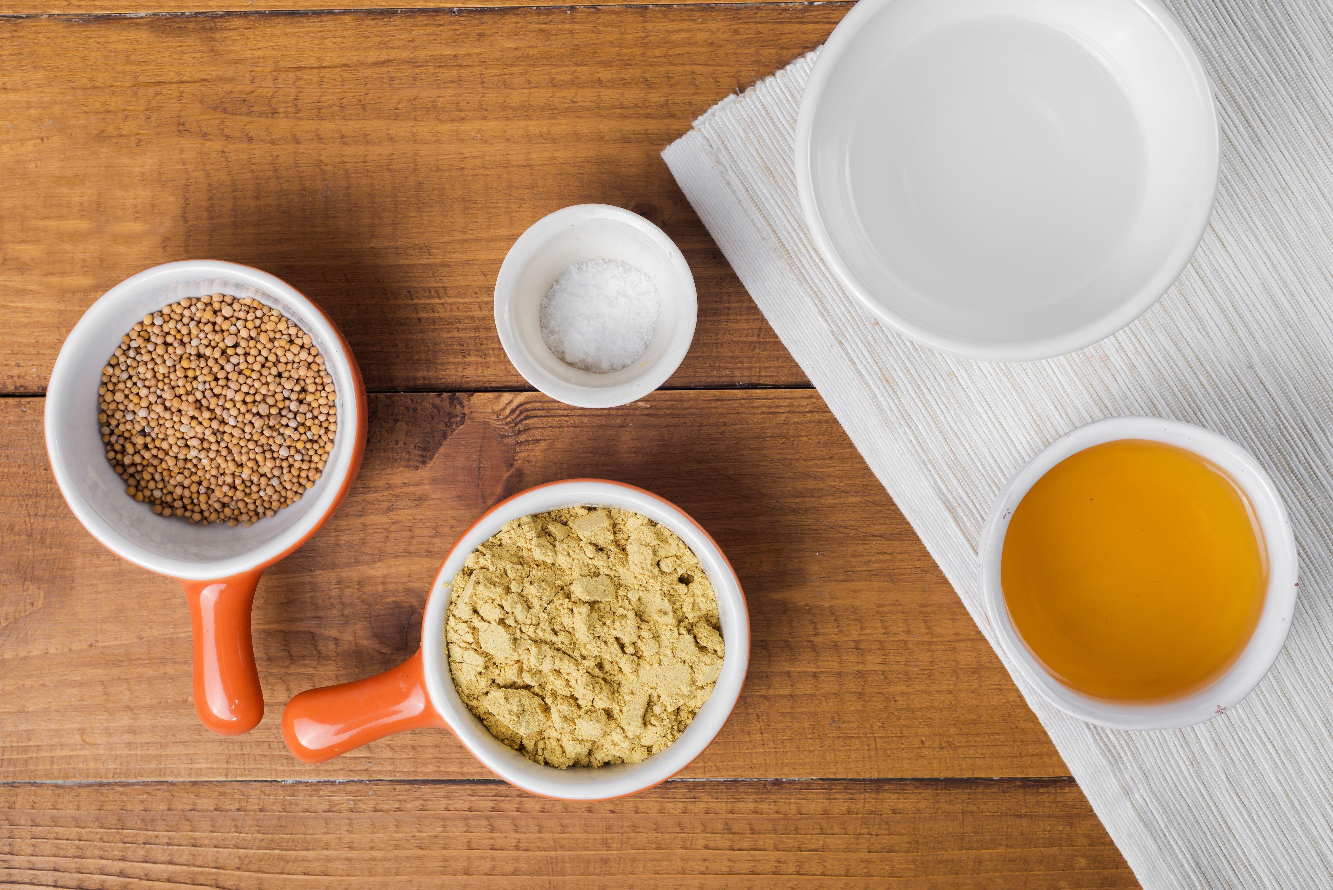 Ings For Simple Mustard