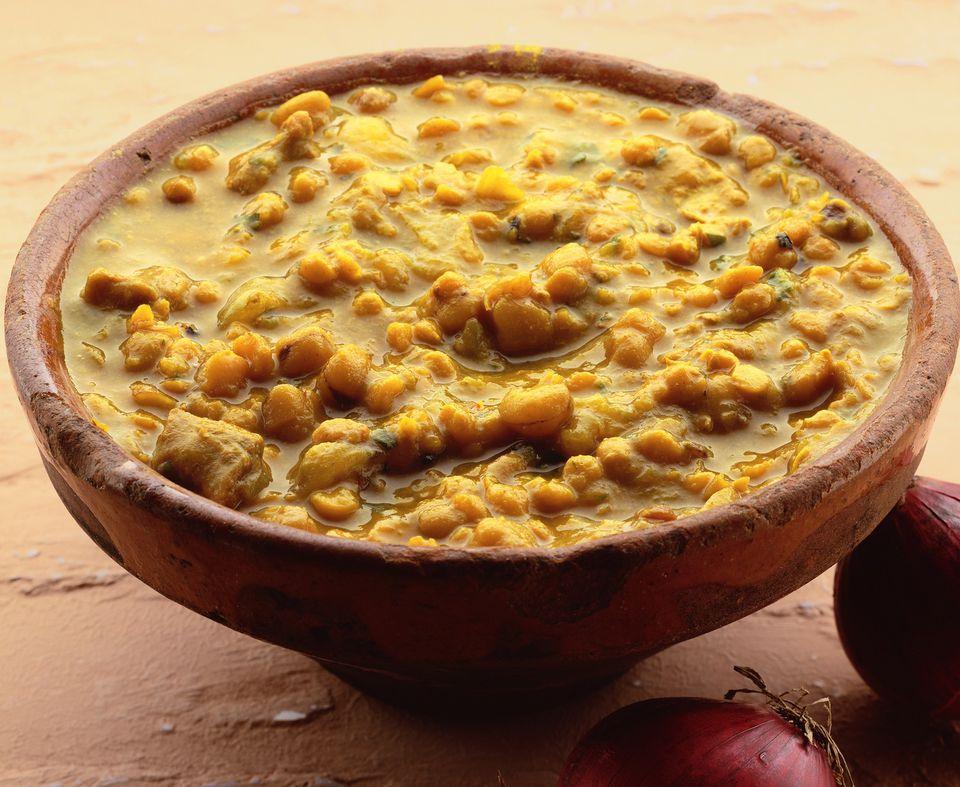 Vegetarian Bengali Masoor dal