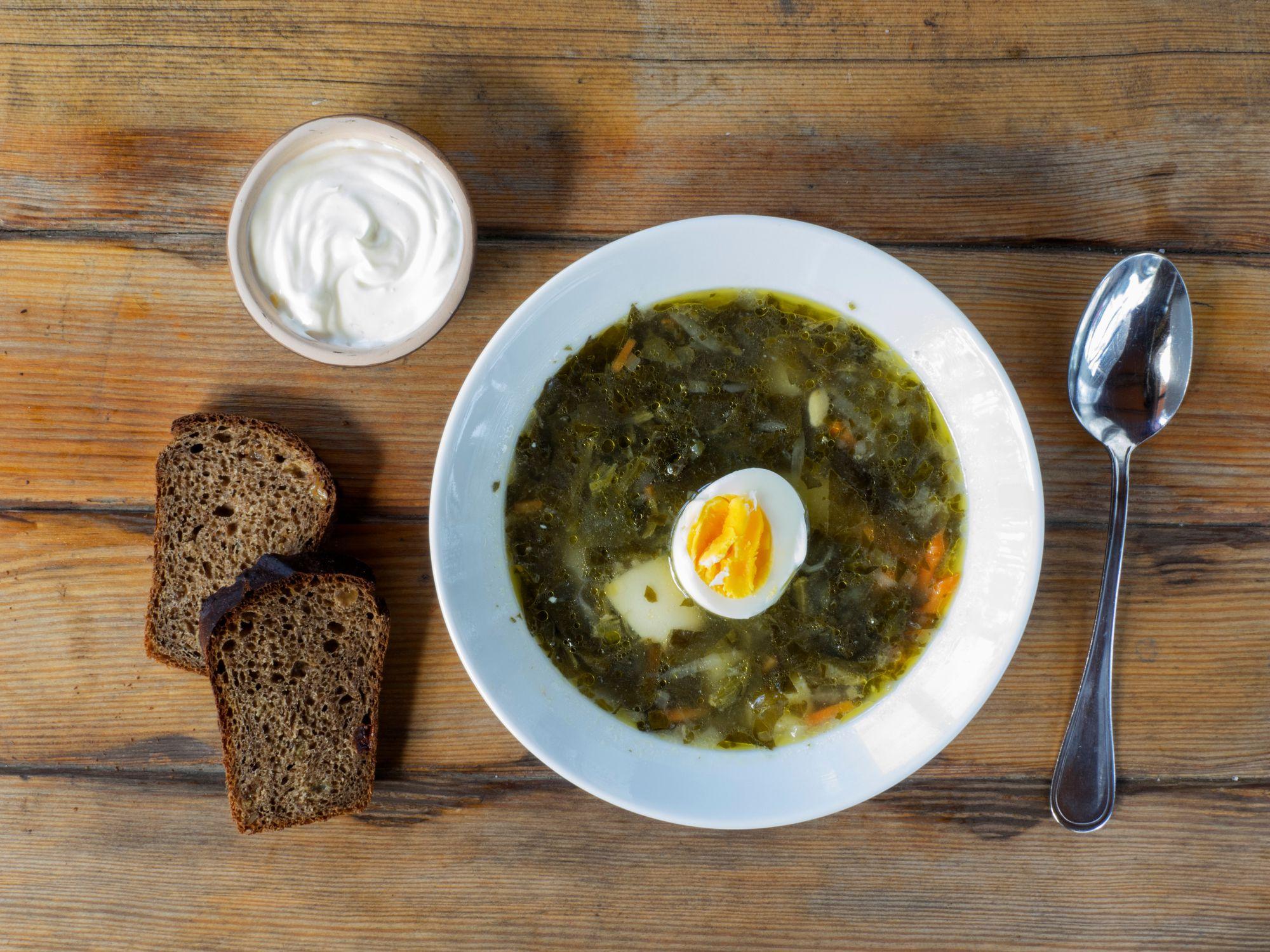 How to Make Springtime Sorrel Soup
