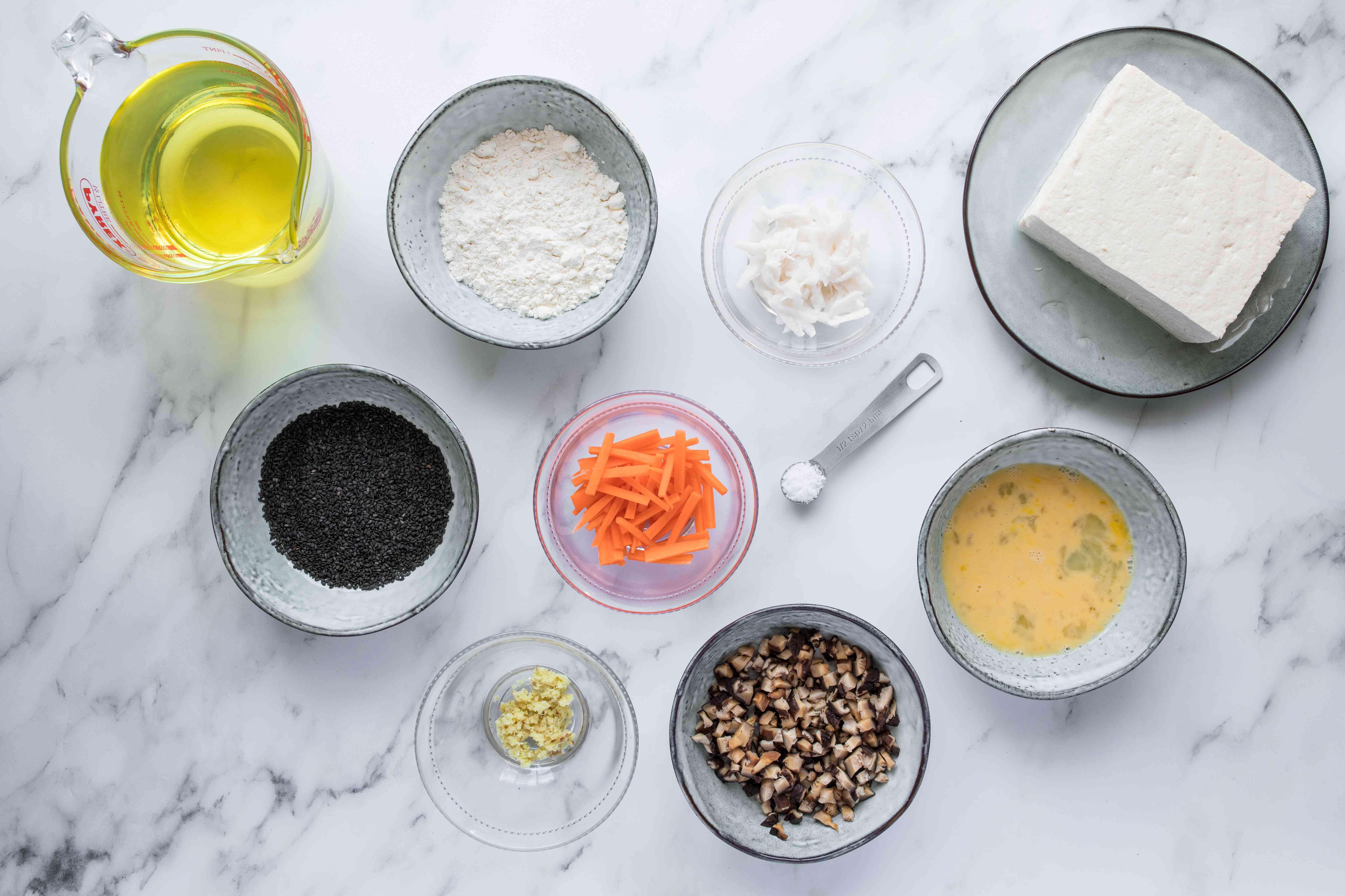 Ganmodoki ingredients