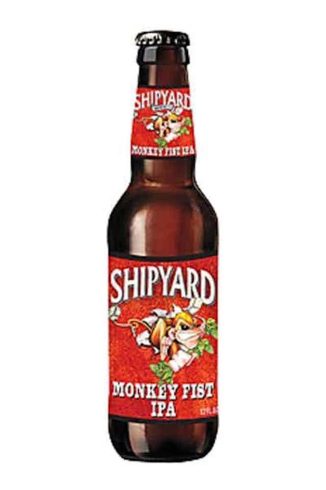 Shipyard Monkey First IPA