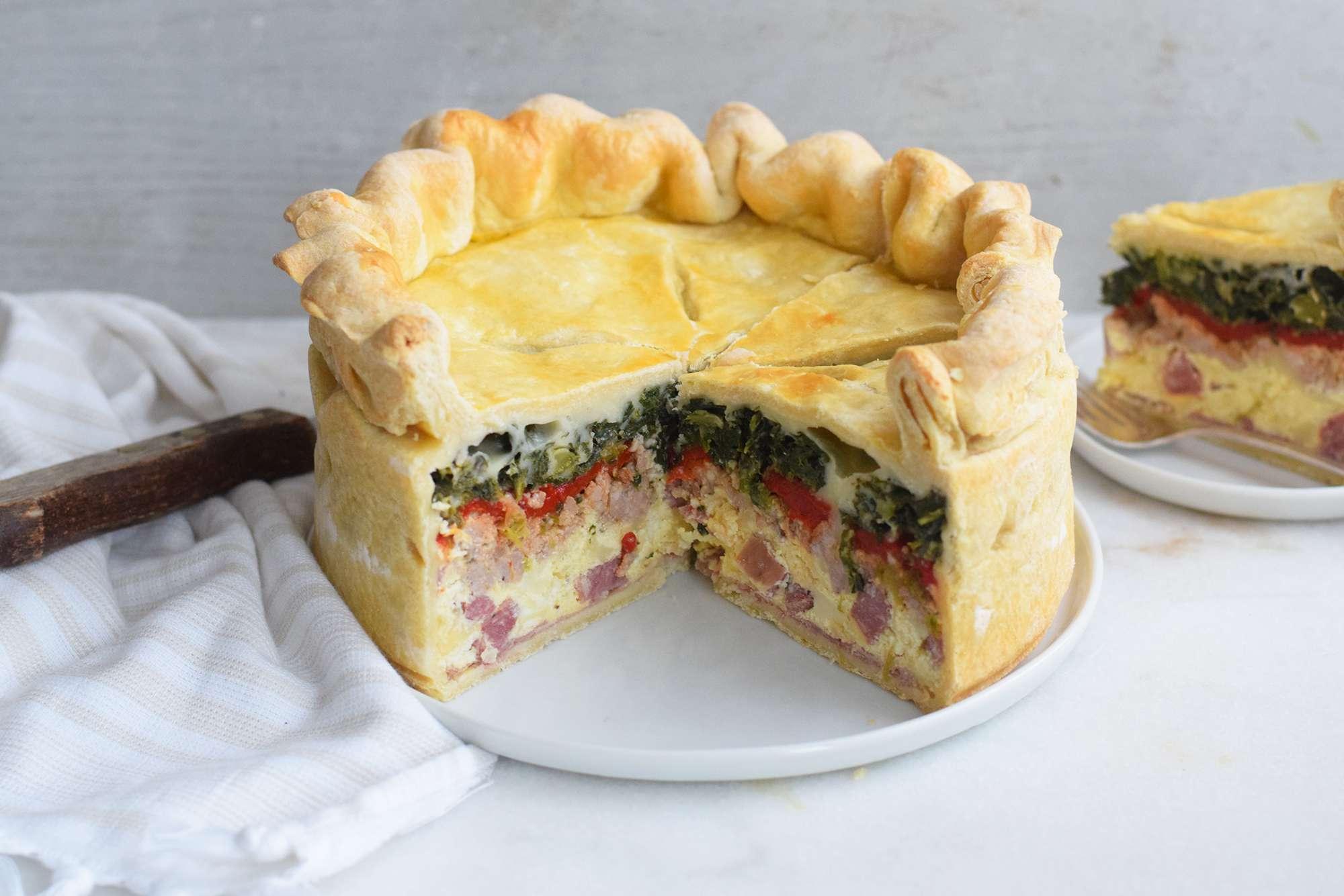 cooked easter pie