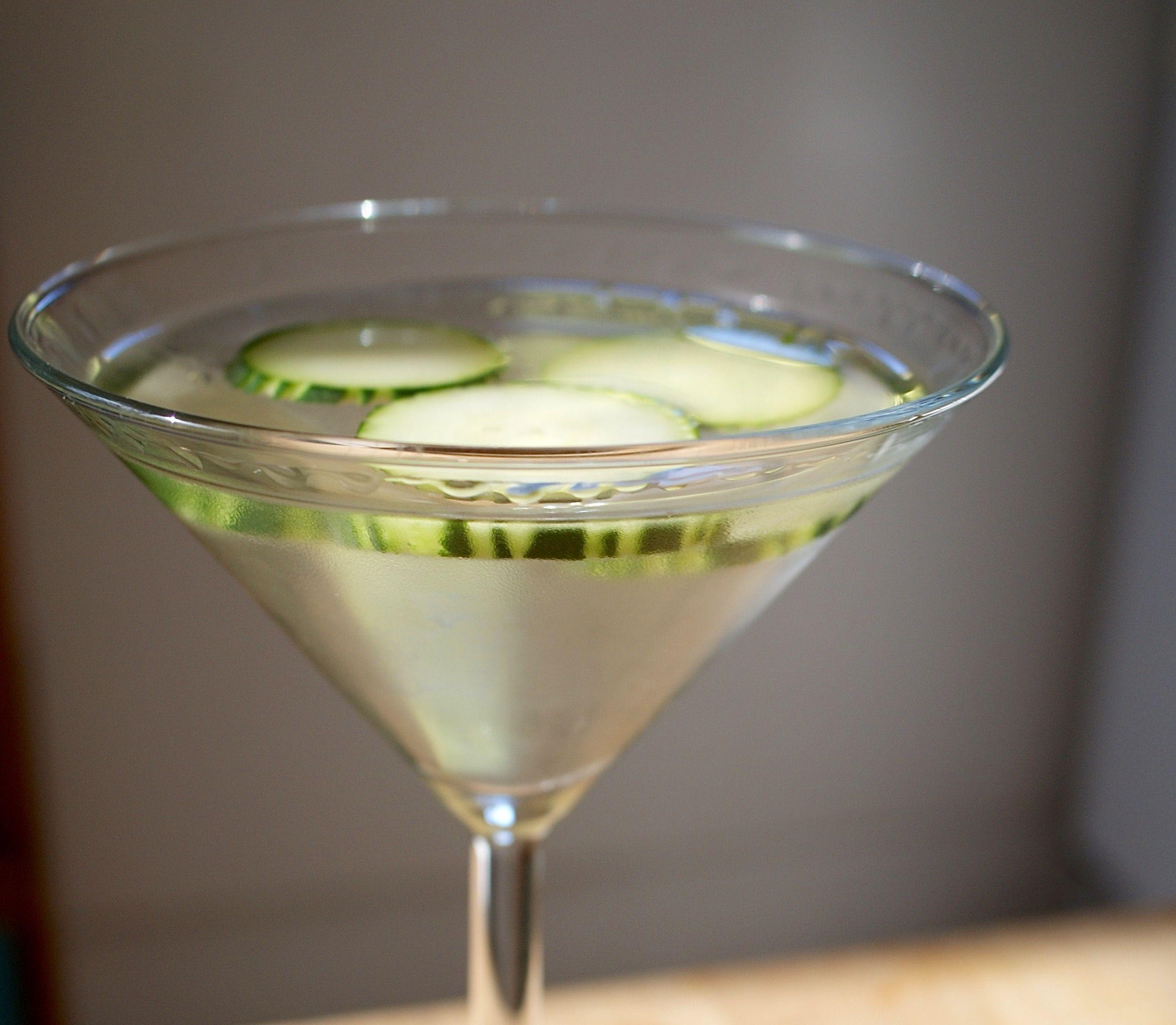 Cucumber-Infused Vodka Recipe