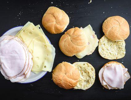 Put turkey on bread