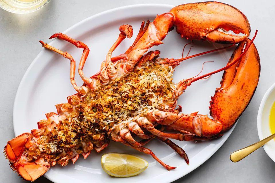 Baked Stuffed Lobster