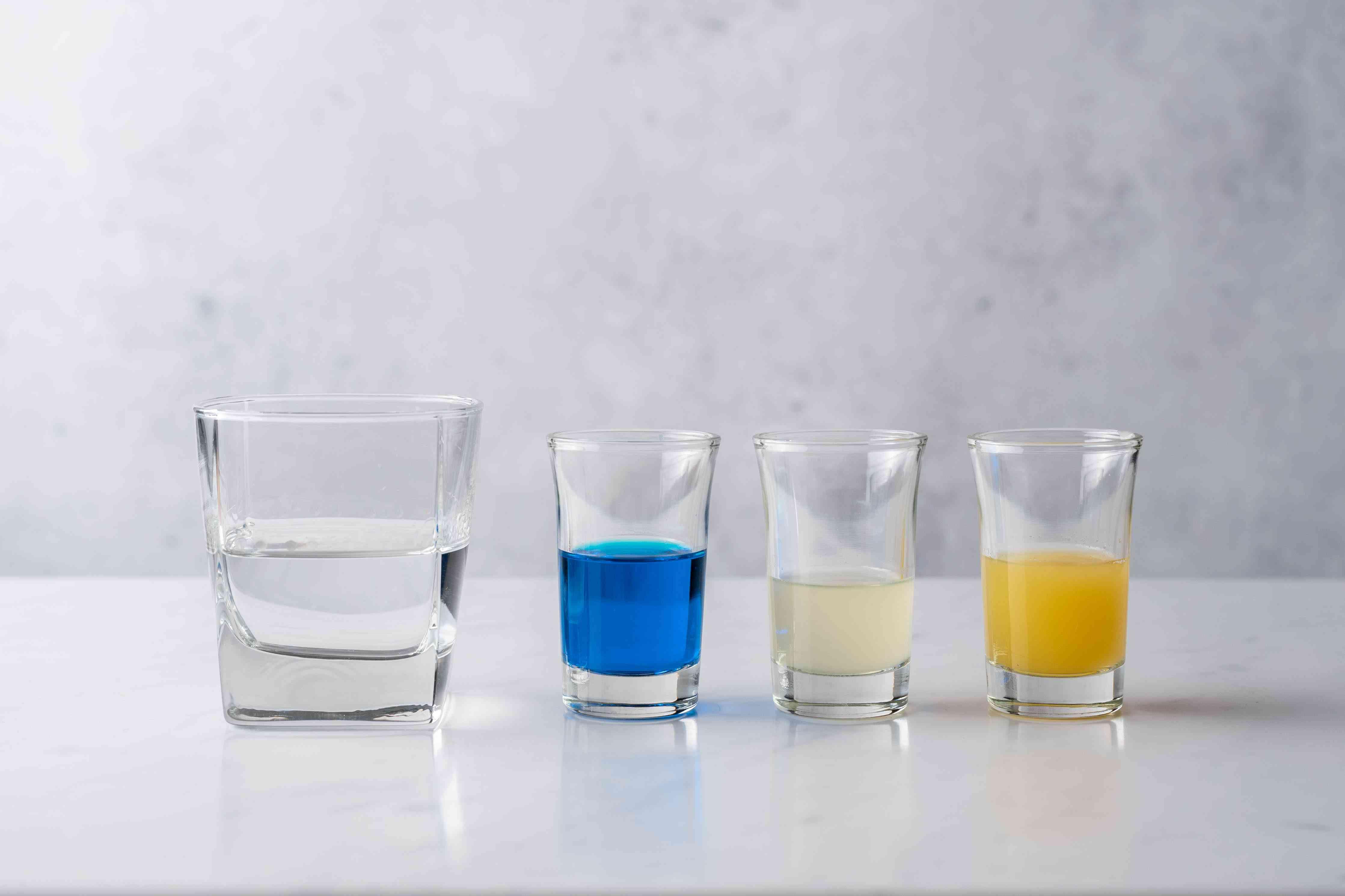 Deep Blue Sea Martini ingredients