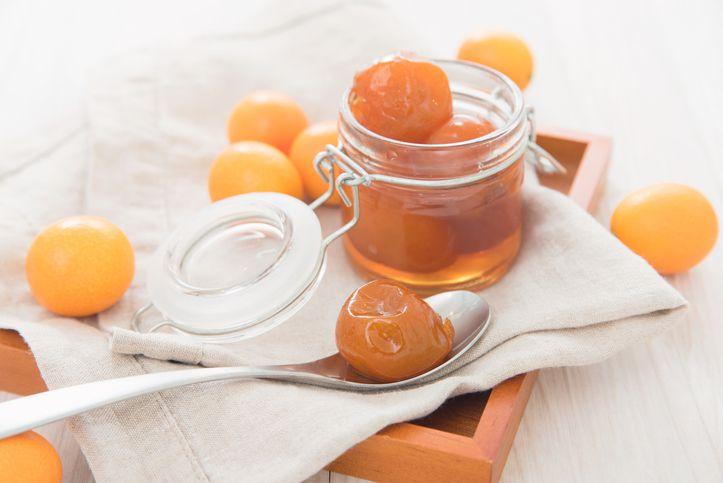 Candied kumquat