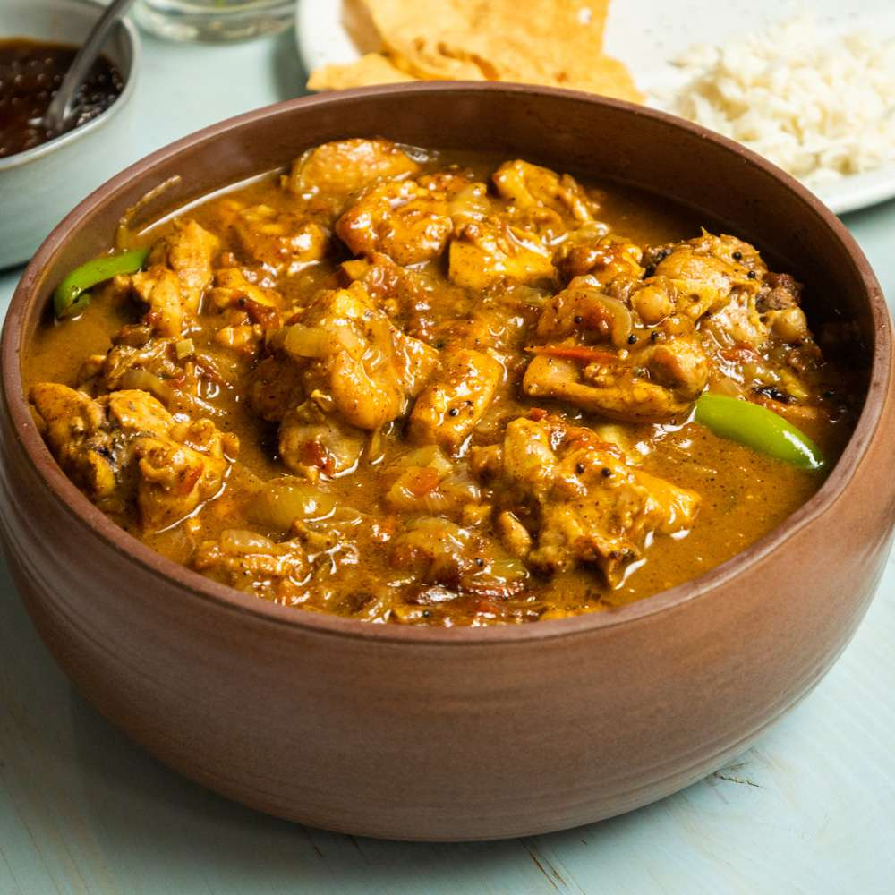 South Indian Style Chicken Curry Tester Image