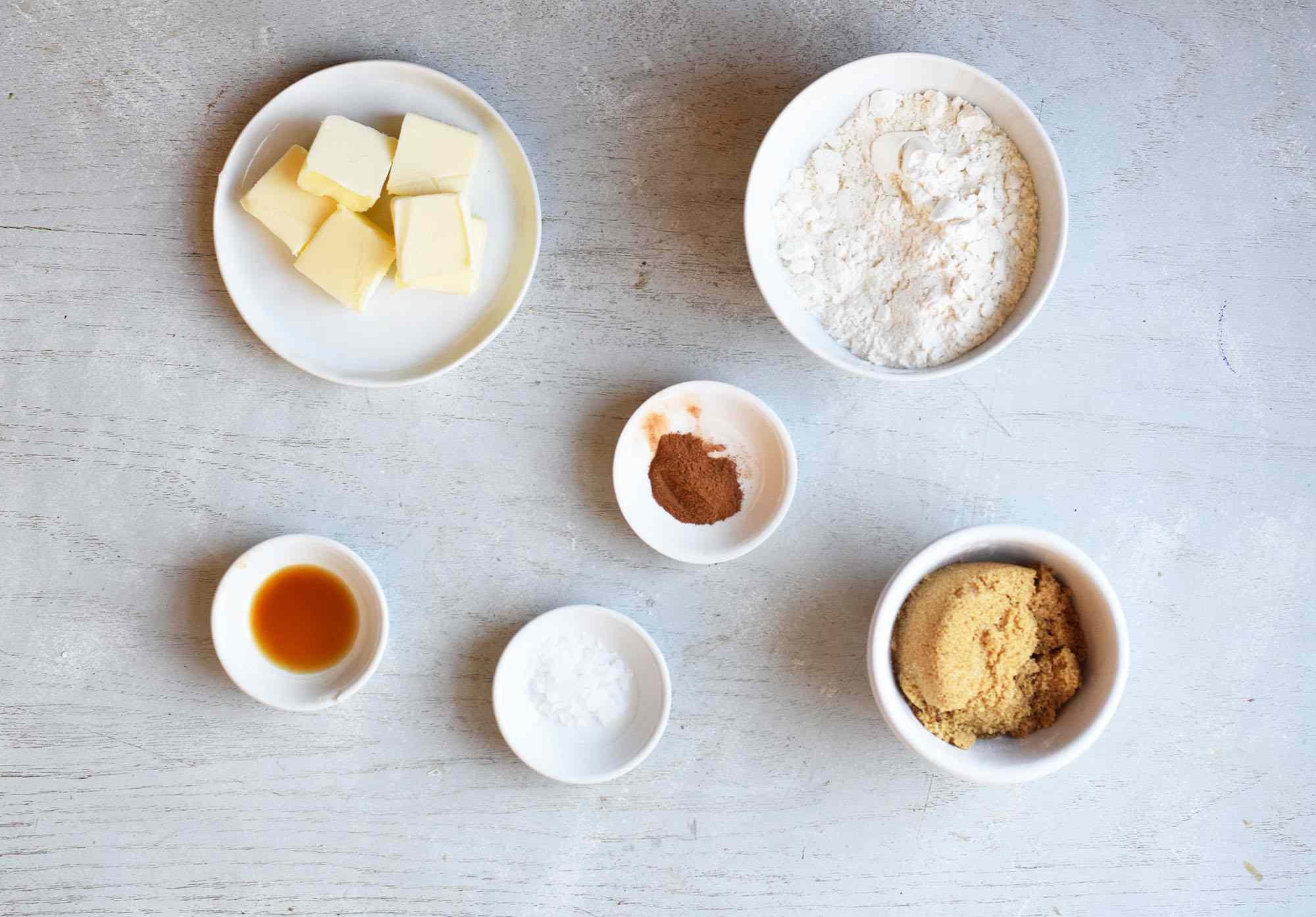 streusel ingredients for apple streusel recipe
