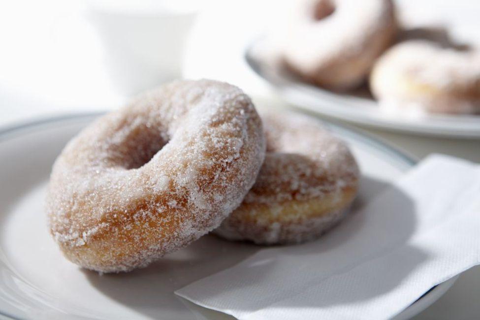 Mashed Sweet Potato Doughnuts