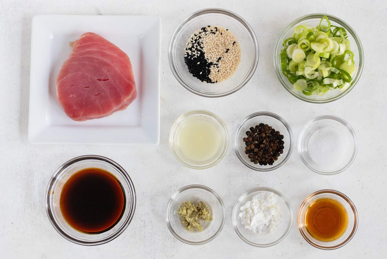 Grilled Tuna Steak Recipe Sesame Seeds Dandk Organizer