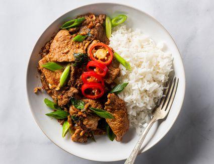 Thai Basil Pork