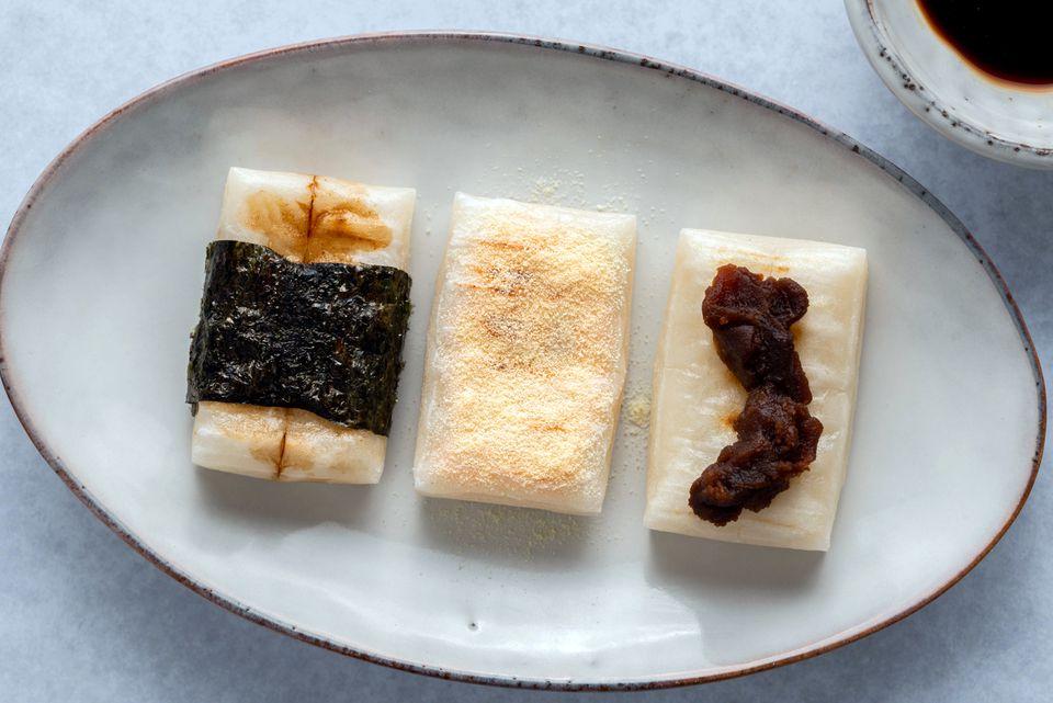 Yaki Mochi (Grilled Japanese Rice Cake)