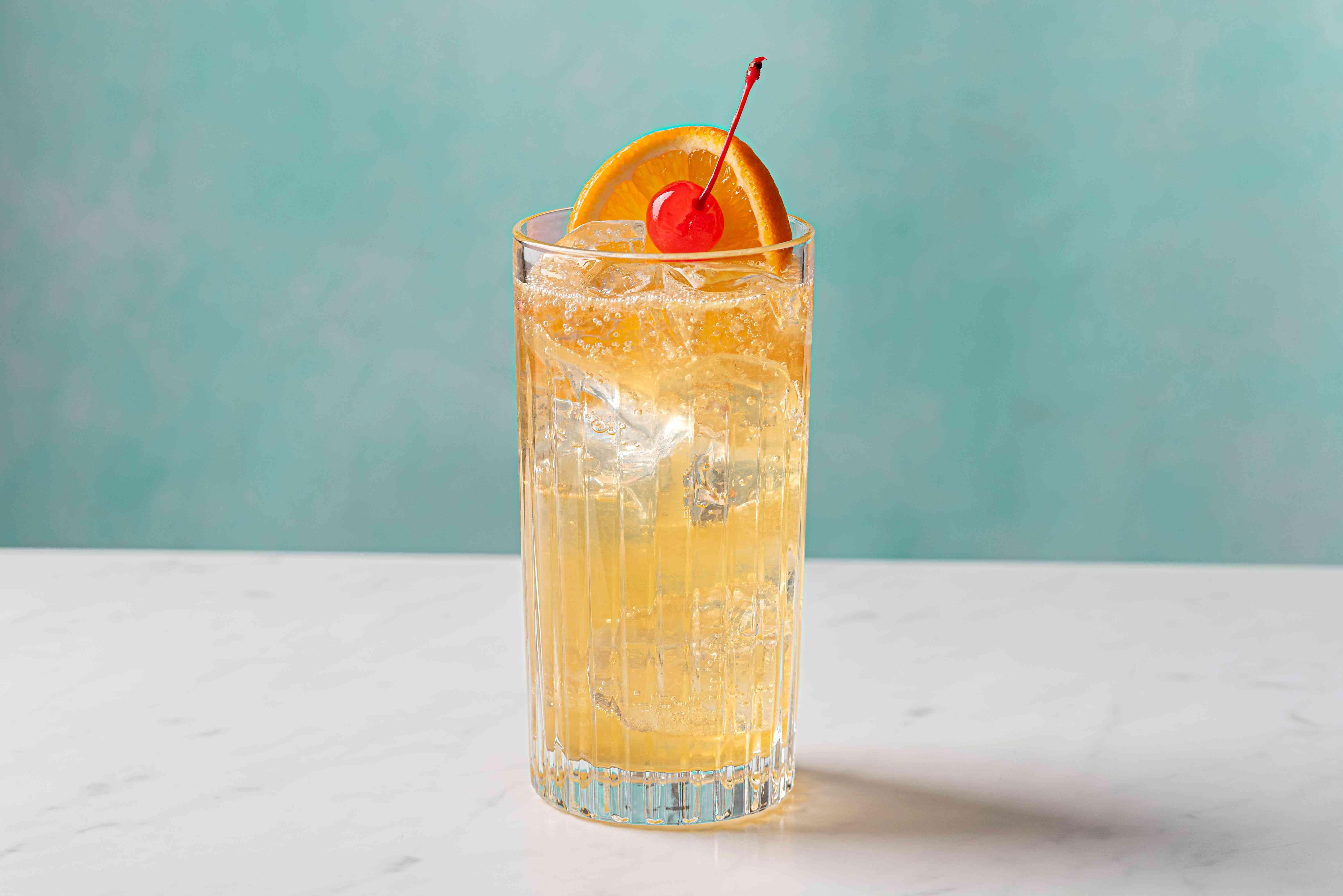 John Collins Bourbon Whiskey Highball