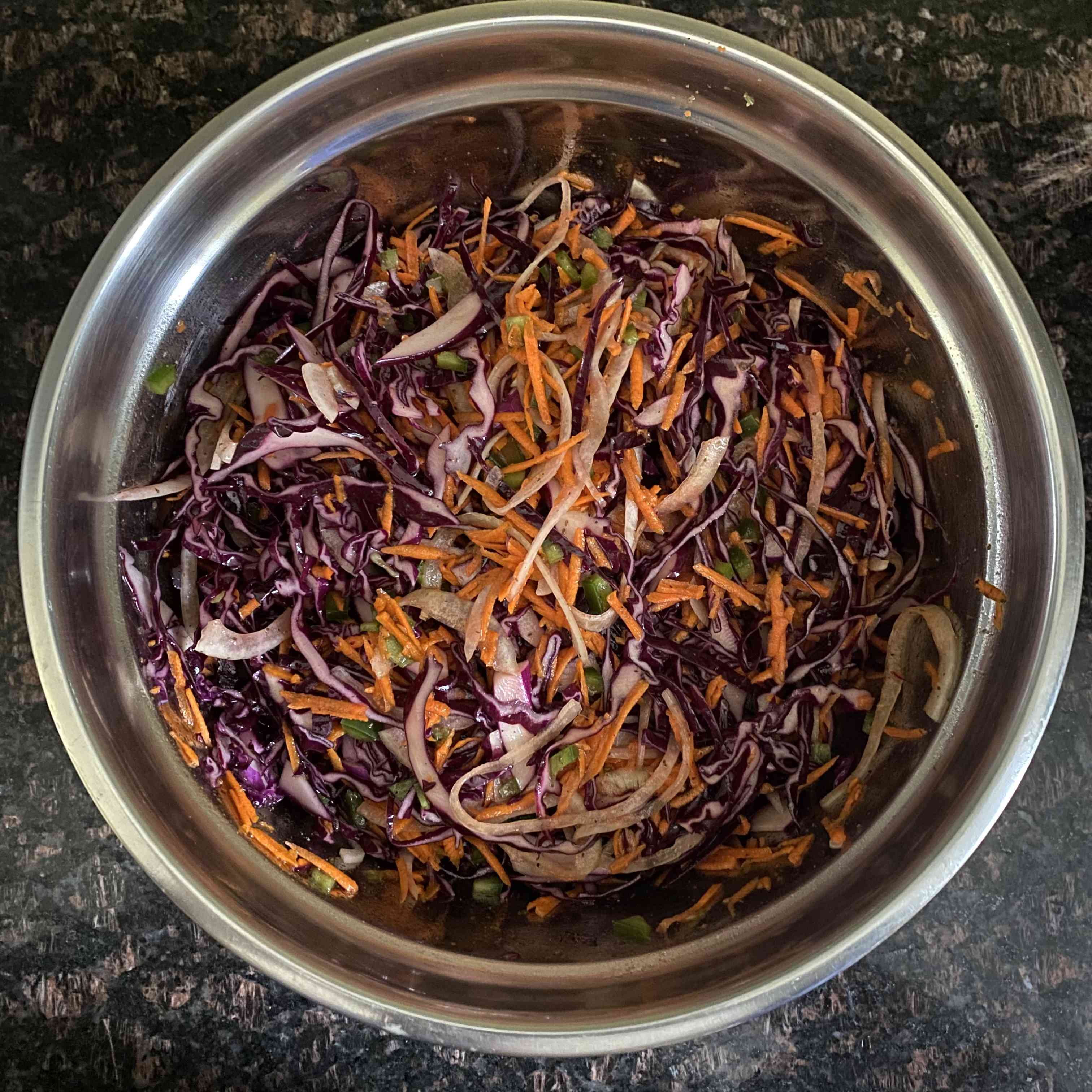 Vinegar-Based Carolina Slaw Tester Image
