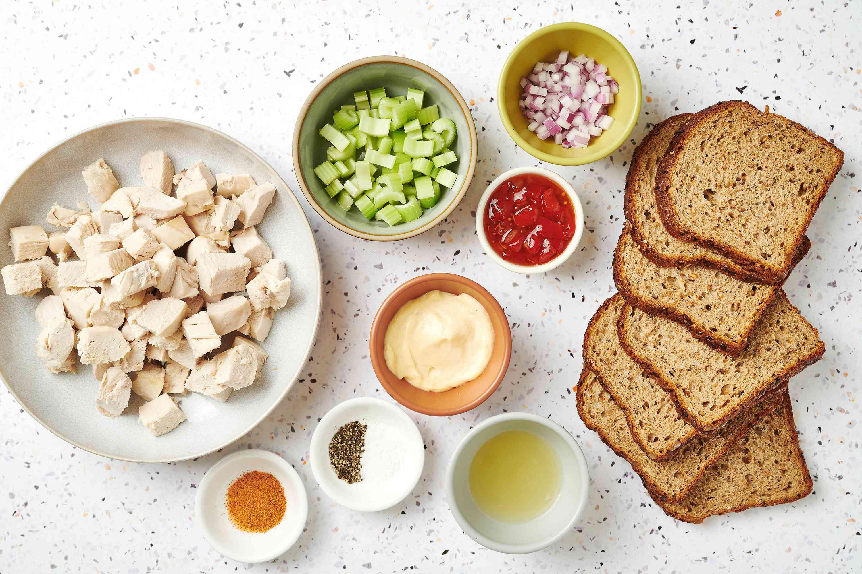 Favorite Chicken Salad ingredients